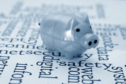Piggy Bank Portraying Financial Safety